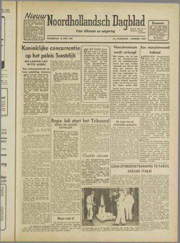 Nieuw Noordhollandsch Dagblad : voor Alkmaar en omgeving 1946-06-19