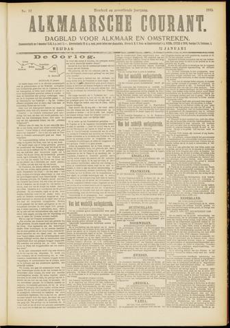 Alkmaarsche Courant 1915-01-15