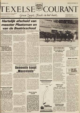 Texelsche Courant 1982-09-28