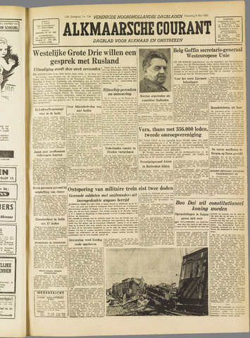 Alkmaarsche Courant 1955-05-09