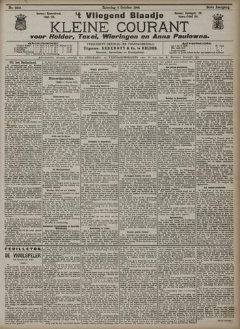 Vliegend blaadje : nieuws- en advertentiebode voor Den Helder 1906-10-06