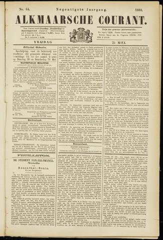 Alkmaarsche Courant 1888-05-25