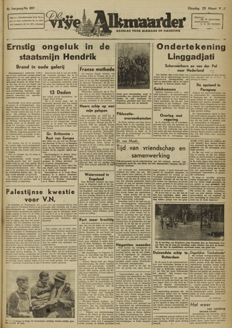 De Vrije Alkmaarder 1947-03-25