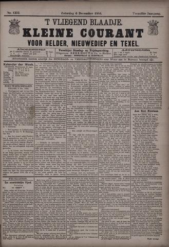 Vliegend blaadje : nieuws- en advertentiebode voor Den Helder 1884-12-06