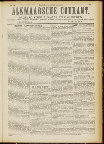 Alkmaarsche Courant 1915-12-23