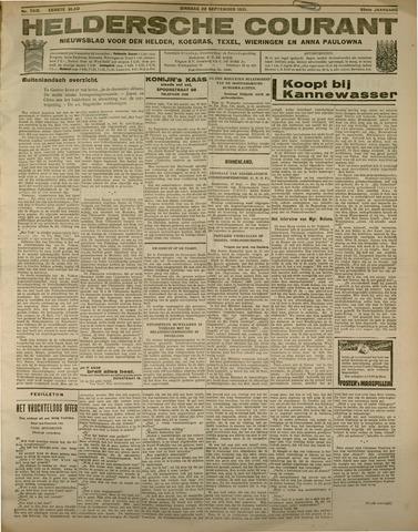 Heldersche Courant 1931-09-22