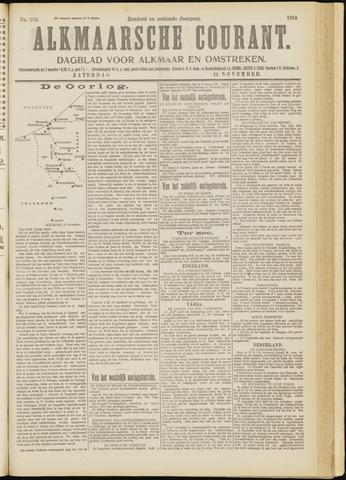 Alkmaarsche Courant 1914-11-14