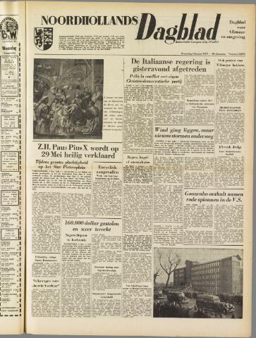 Noordhollands Dagblad : dagblad voor Alkmaar en omgeving 1954-01-06