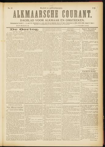 Alkmaarsche Courant 1917-02-01