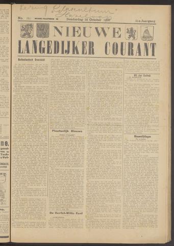 Nieuwe Langedijker Courant 1926-10-14