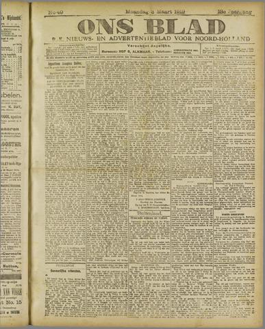 Ons Blad : katholiek nieuwsblad voor N-H 1919-03-03