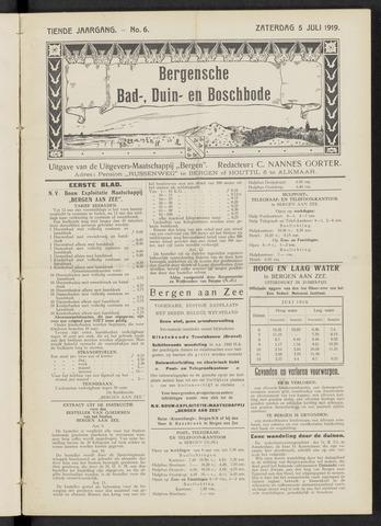 Bergensche bad-, duin- en boschbode 1919-07-05