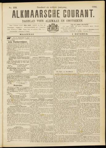 Alkmaarsche Courant 1906-10-01