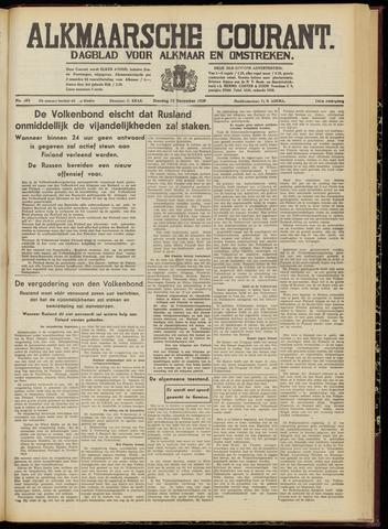 Alkmaarsche Courant 1939-12-12