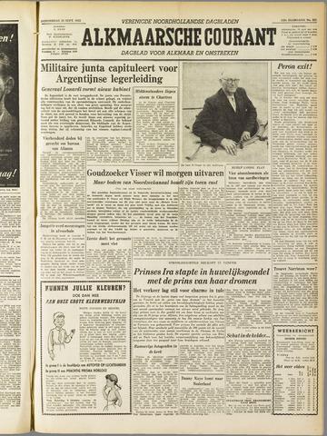 Alkmaarsche Courant 1955-09-22