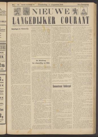 Nieuwe Langedijker Courant 1926-08-12