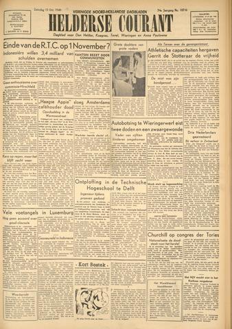 Heldersche Courant 1949-10-15