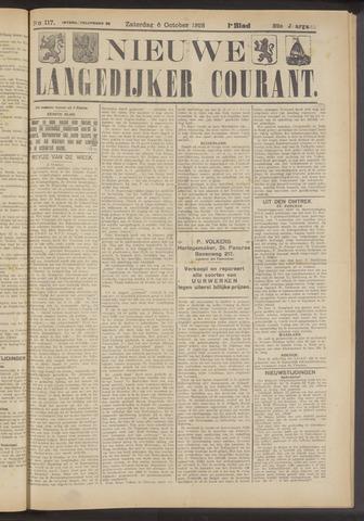 Nieuwe Langedijker Courant 1923-10-06