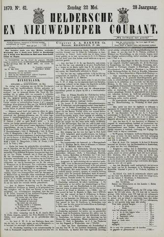 Heldersche en Nieuwedieper Courant 1870-05-22