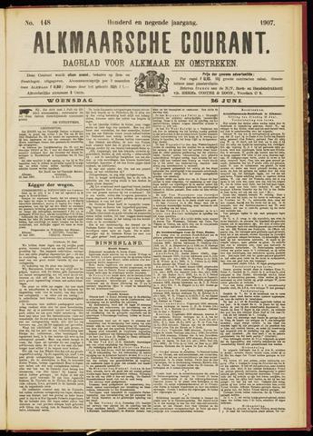 Alkmaarsche Courant 1907-06-26