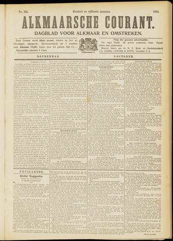 Alkmaarsche Courant 1913-10-09