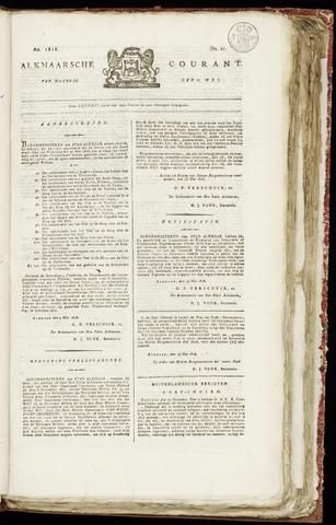 Alkmaarsche Courant 1818-05-25