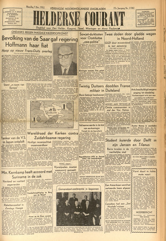 Heldersche Courant 1952-12-01