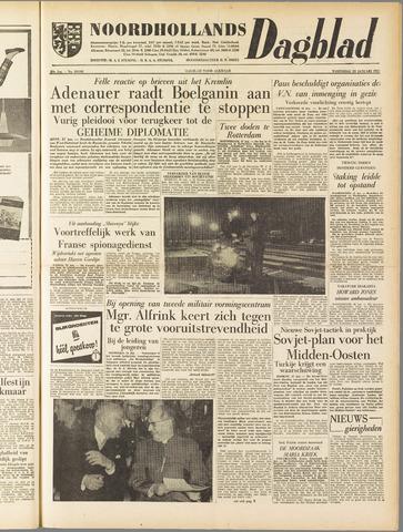 Noordhollands Dagblad : dagblad voor Alkmaar en omgeving 1958-01-22