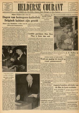 Heldersche Courant 1954-04-12