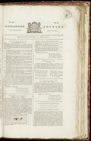 Alkmaarsche Courant 1821-04-09