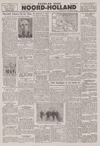 Dagblad Noord-Holland, Schager editie 1943-04-15