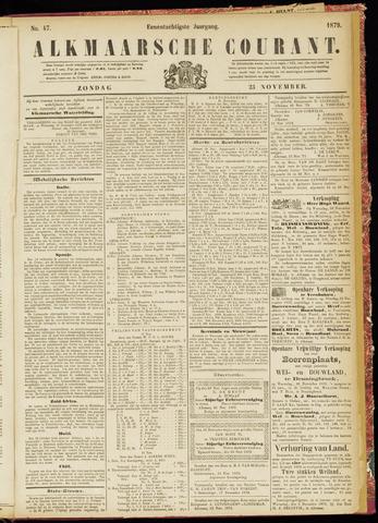 Alkmaarsche Courant 1879-11-23