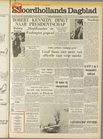 Noordhollands Dagblad : dagblad voor Alkmaar en omgeving 1968-03-18