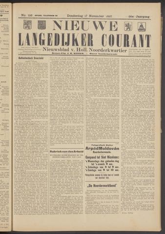 Nieuwe Langedijker Courant 1927-11-17