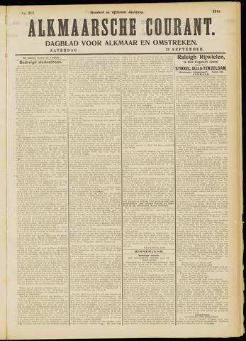 Alkmaarsche Courant 1913-09-13
