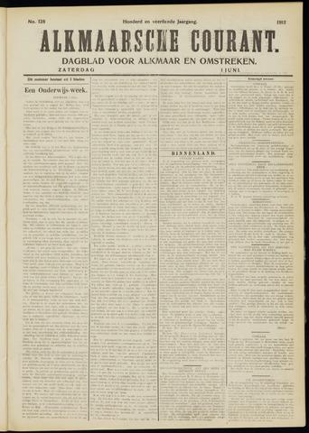 Alkmaarsche Courant 1912-06-01