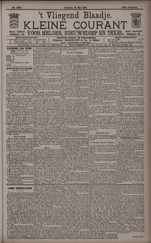 Vliegend blaadje : nieuws- en advertentiebode voor Den Helder 1894-05-26