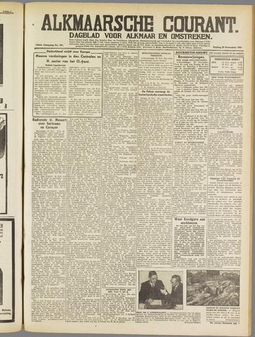 Alkmaarsche Courant 1941-11-28