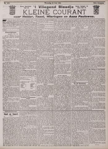 Vliegend blaadje : nieuws- en advertentiebode voor Den Helder 1904-06-22