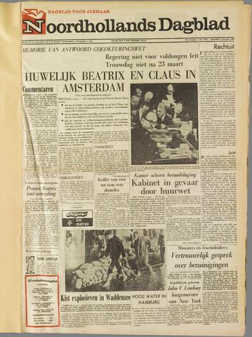 Noordhollands Dagblad : dagblad voor Alkmaar en omgeving 1965-11-03
