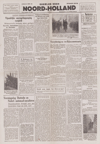 Dagblad Noord-Holland, Schager editie 1943-02-23