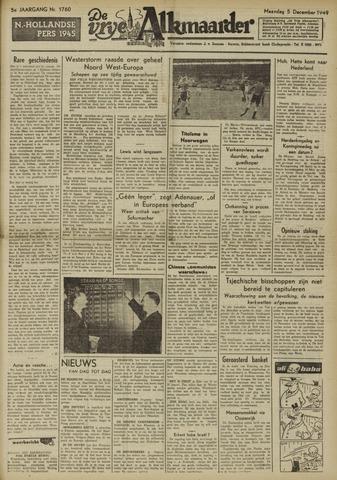De Vrije Alkmaarder 1949-12-05