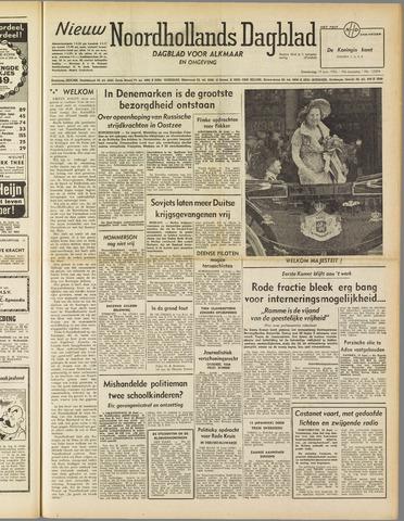 Nieuw Noordhollandsch Dagblad : voor Alkmaar en omgeving 1952-06-19