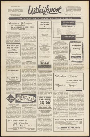 Uitkijkpost : nieuwsblad voor Heiloo e.o. 1966-11-17