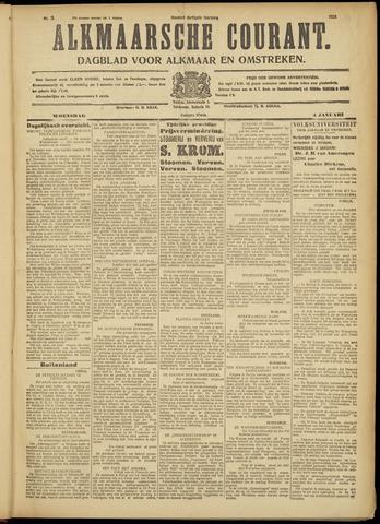 Alkmaarsche Courant 1928-01-04