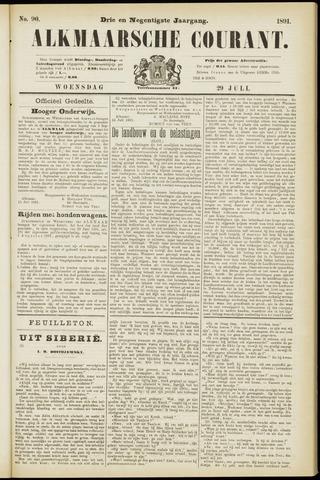Alkmaarsche Courant 1891-07-29