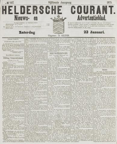 Heldersche Courant 1875-01-23