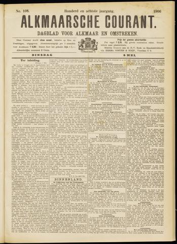 Alkmaarsche Courant 1906-05-08