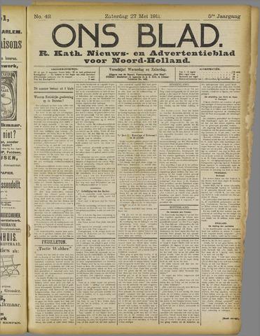 Ons Blad : katholiek nieuwsblad voor N-H 1911-05-27
