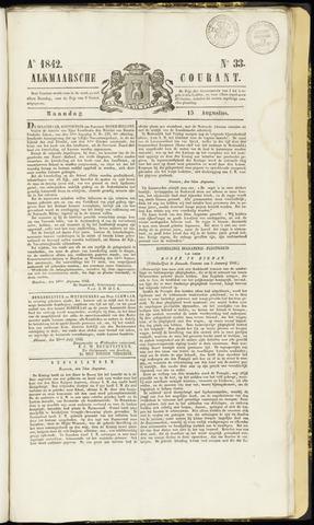 Alkmaarsche Courant 1842-08-15